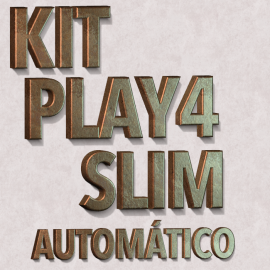 Chip Play4  Slim 2215, 2115 2015  PLUG AND PLAY AUTOMÁTICO