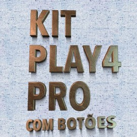 Chip Play4 PRO 7215, 7214  PLUG AND PLAY com botoes de regular